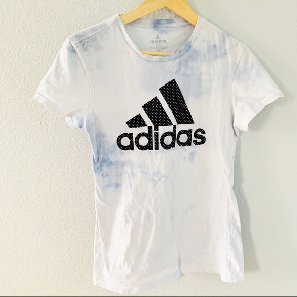 adidas Tops - Adidas The Go To Tee Tie Dyed Fitted Tee Shirt M